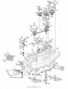 Mtd 13ax775h031  2008  Parts Diagram For Deck 46 Inch