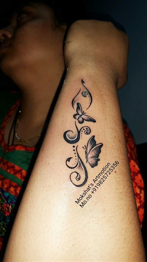 unique simple butterfly tattoo ideas  pinterest