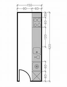 les 25 meilleures idees de la categorie plans de petite With meubles pour petite cuisine 4 plan de cuisine en l 8 exemples pour optimiser lespace
