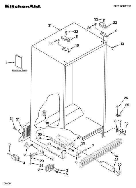Kitchenaid Parts Ri kitchenaid refrigerator parts diagram dandk organizer