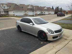 Purchase Used 2003 Silver Infiniti G35 6 Speed With Custom