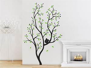 Baum An Wand Malen : wandtattoo baum mit eichh rnchen wandtattoo de ~ Frokenaadalensverden.com Haus und Dekorationen