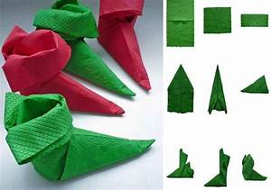 Papierservietten Falten Anleitung : servietten falten zu weihnachten deko ideen und anleitung ~ Frokenaadalensverden.com Haus und Dekorationen