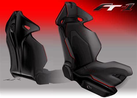 toyota ft  concept seat design sketch car body design