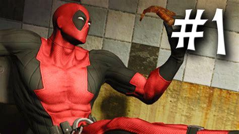 Deadpool Gameplay Part 1 Walkthrough Playthrough Let's
