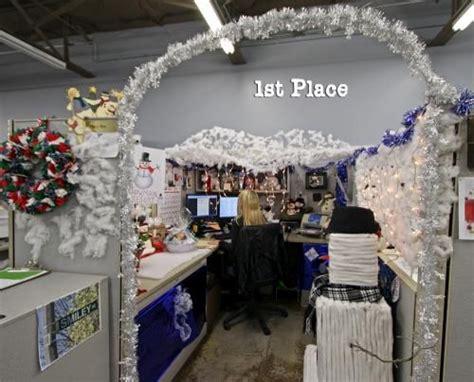 a winter wonderland office cubes pinterest