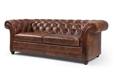 canap 233 chesterfield en cuir westminster