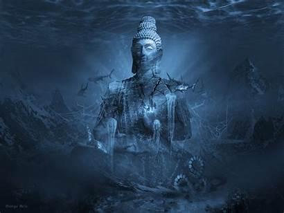 Meditation Serenity Tranquility Prayer Surreal Buddha Zen