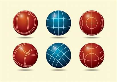 Bocce Ball Vector Clipart Graphics Edit System
