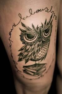 Tatouage Chouette Signification : l 39 heure bleue tattoo by dodie inspiration tatoo ~ Melissatoandfro.com Idées de Décoration
