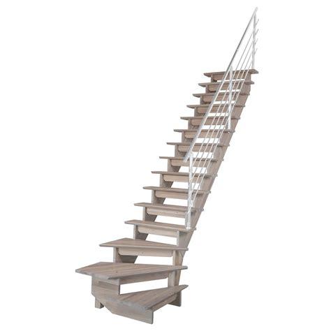cuisine a domicile escalier quart tournant bas droit auvergne structure bois