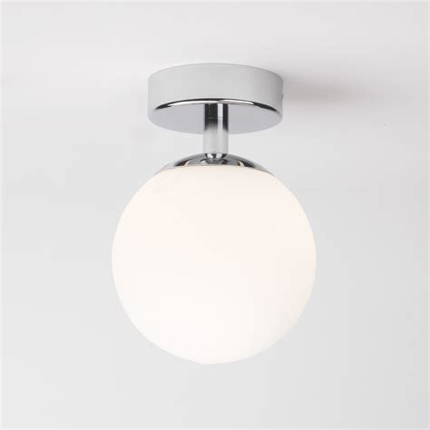 astro denver  bathroom glass small globe ceiling light