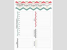 40+ Printable Daily Planner Templates FREE ᐅ Template Lab