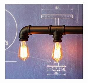 Suspension Ampoule Vintage : suspension tubes vintage style industriel pour 5 ampoules filament edison ~ Dode.kayakingforconservation.com Idées de Décoration