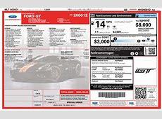 Jay Leno's Ford GT Window Sticker Reveals $506,252 Price