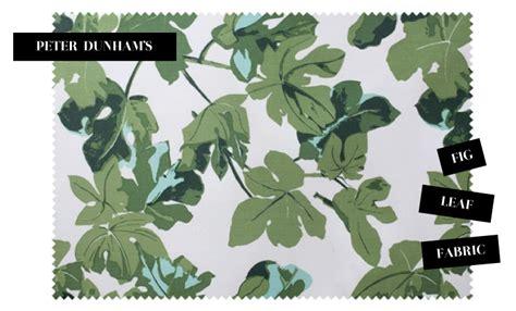 maple  shade fig leaf fabric