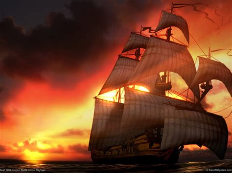pirate ship desktop wallpaperwallpaper pirates caribbean