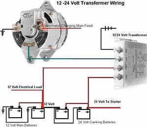 12 Volt Alternator Wiring Diagram : 12 24 volt dc 10 amp charging transformer ~ A.2002-acura-tl-radio.info Haus und Dekorationen