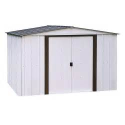 arrow newport 10 ft x 8 ft steel shed np10867 the home depot
