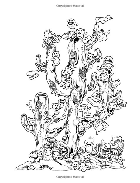 doodle coloring book doodle zifflin s coloring book
