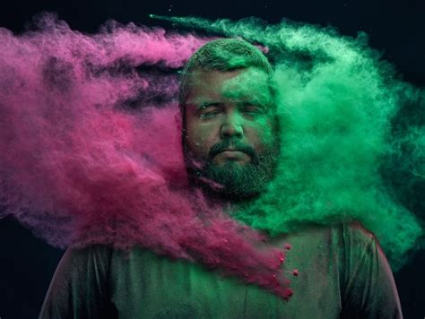 Psychedelic Dust Photography