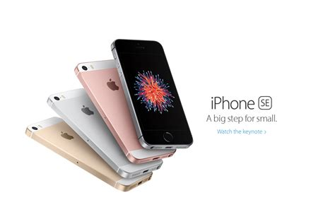a big deal in a small package apple unveils iphone se