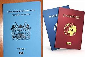 immigration department begins roll out of new e passports With requirements for passport kenya