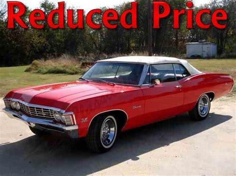 chevrolet impala  sale  classiccarscom