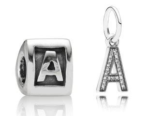 pandora letter charms pandora letter charms gift and wrap 15650