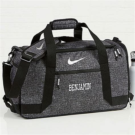nike embroidered  duffel bag bed bath