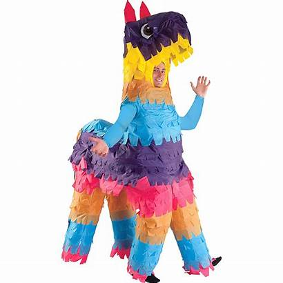 Pinata Costume Adult Inflatable Donkey Partycity Party