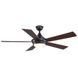 shop allen roth 52 quot portes aged bronze ceiling fan at