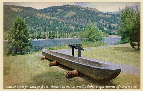Canoes Lewis And Clark by The Volcanoes Of Lewis And Clark October 5 6 1805