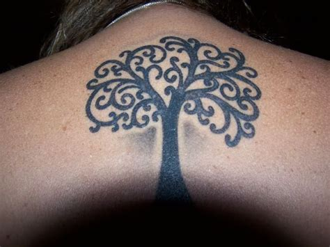 Tree Tattoos, Tree Drawing Simple And Evergreen