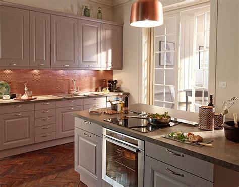 meuble de cuisine castorama castorama cuisine candide lilas une cuisine qui charme et caract 232 re pour une atmosph 232 re