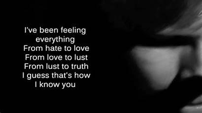 Quotes Ed Sheeran Kiss Hate Poems Hurts