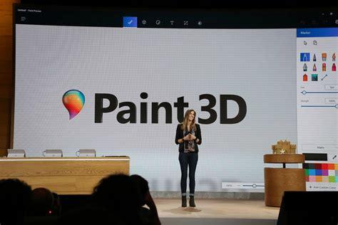 3d Paint : Paint 3d Es Anunciado Oficialmente Por Microsoft