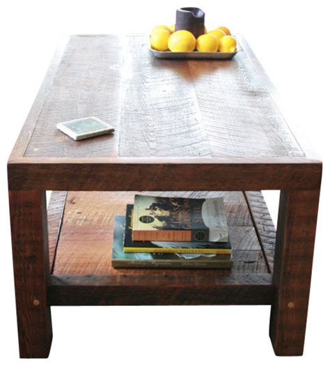 new orleans barge board and reclaimed wood coffee table