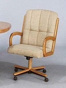 Chromcraft Swivel Kitchen Chairs by Chromcraft C318 855 Metal Swivel Tilt Caster Arm Chair Set