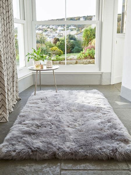 large grey rug large grey sheepskin rug large sheepskin rug nordic house