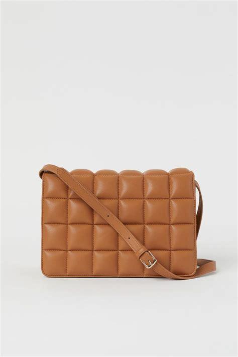quilted shoulder bag beige ladies hm    quilted shoulder bags shoulder bag