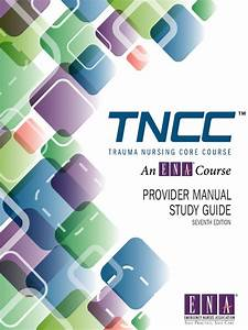 Tncc Provider Manual Study Guide