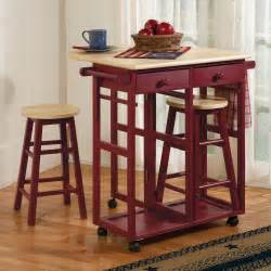 small kitchen islands with stools drop leaf kitchen cart stools sturbridge yankee workshop