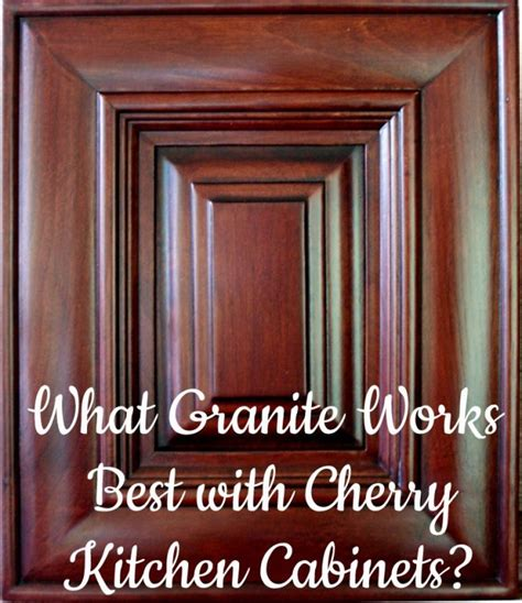 Best Color For Kitchen Cabinets 2015 by Best Granite Countertops For Cherry Cabinets