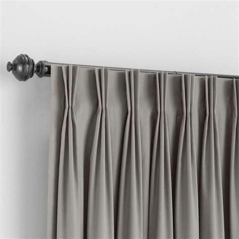 bali custom pinch pleat draperies traditional curtains