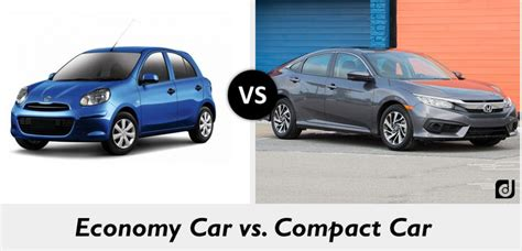 Difference Between Compact And Economy Cars