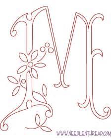 monogram letter t monogram for embroidery m needlenthread