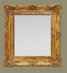 Miroir Doré Ancien : glace miroir ancien poque restauration broquante pinterest ~ Teatrodelosmanantiales.com Idées de Décoration