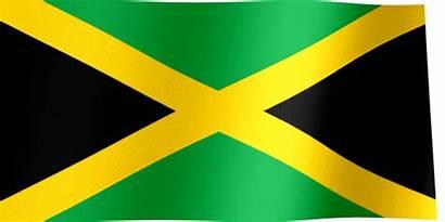 Jamaica Flag Flags Barbados Africa South Animated