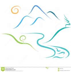 Simple Mountain Drawings Photo by Mountain Nature Logo Stock Vector Image 38918193